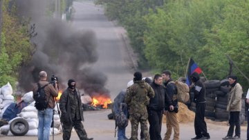 Вночі у Слов'янську з мінометів обстріляли українських силовиків