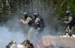 Терористи розстріляли блокпост Нацгвардії під Волновахою