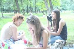 Харків'яни писали листи для українських військових