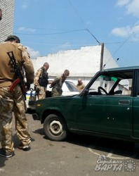 Під Луганськом сили АТО захопили в полон терористів (ФОТО)