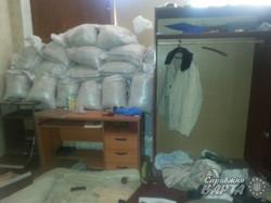 Ополченці ЛНР з батальйону «Привид» жили на заводі (ФОТО)