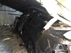 Теракт у Харкові. У згорілому гаражі знайшли вибухівку (ВІДЕО, ФОТО)