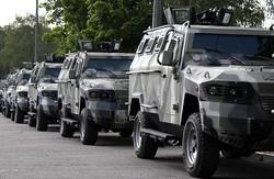 РНБО: До зони АТО прибула техніка з параду в Києві