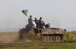 """Українські військові за добу знищили близько 250 бойовиків, два танки та дві установки """"Град"""""""