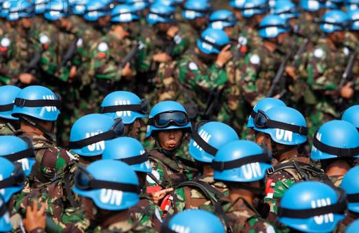 Військовий конфлікт на Донбасі здатні врегулювати тільки миротворці ООН