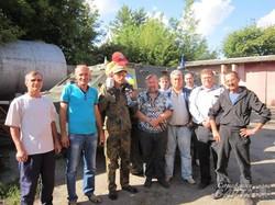 Лозівські волонтери передали «Айдару» БРДМ-2