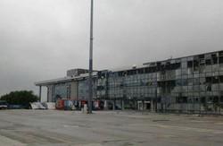 Луганський аеропорт повністю зруйнований