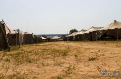 Пункт тимчасової зупинки переселенців у Сватовому (ФОТОРЕПОРТАЖ)