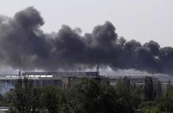 У Донецьку триває штурм аеропорту: житлові райони навкруги пошкоджені