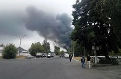 Жителі Донецька повідомляють про віддалені залпи і вибухи