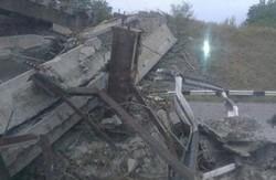 На Донецькій об'їзній обвалилася естакада