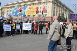 Харківські майданівці протестували проти саботування програми територіальної оборони