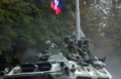 У Макіївці помічена колона російської військової техніки