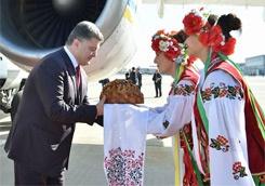 Президент України прибув з робочим візитом до Харкова