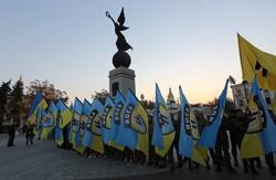 У Харкові з нагоди 72-річниці створення УПА та Дня українського козацтва влаштували «Марш Героїв»