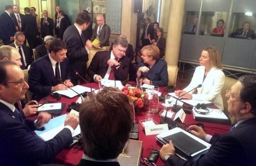 Зустріч Порошенка і Путіна завершилася, президенти спілкувалися 1,5 години