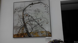 В «Костюринському провулку» триває виставка Артема Рогового
