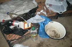На Харківщині хлопець влаштував вдома наркопритон (ФОТО)