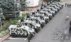 Нацгвардія отримала партію броньованих автомобілів Spartan-aps (фото)