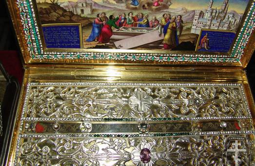 Унікальні православні святині з гори Афон привезли до харківських храмів Московського патріархату. Де їх можна побачити