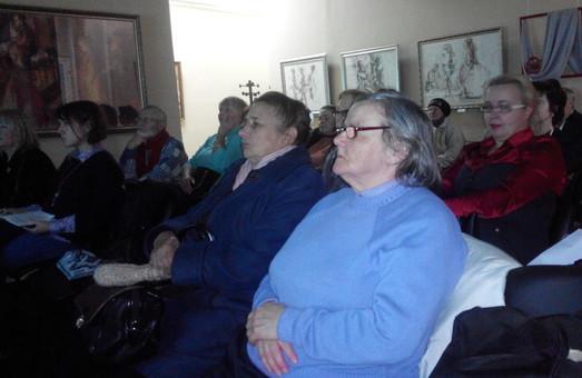 В галереї «Мистецтво Слобожанщини» презентували фільм «Дега і оголена натура»