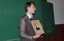 Олександр Савчук презентував дві фундаментальні праці з сакральної української архітектури