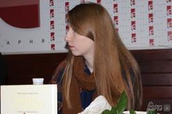 Вікторія Амеліна презентувала свій дебютний роман «Синдром листопаду»