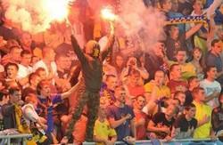 УЄФА покарав ФФУ і Арену Львів за матч з Македонією