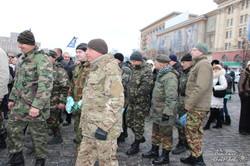 Харків'яни привітали бійців 22 батальйону територіальної оборони (фото)