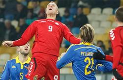 """Товариський матч. Україна - Литва 0:0. Рік закінчили """"нульово"""""""