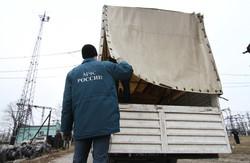 Вантажівки гуманітарного конвою: що було всередині