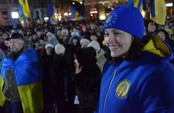 У Харкові відзначили річницю Євромайдану (ФОТО, ВІДЕО)
