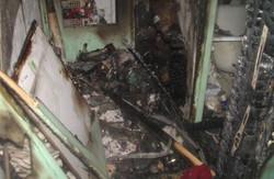 Мешканці одного з харківських гуртожитків ледь не згоріли під час пожежі