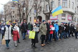 Харків'яни вийшли на марш миру (фото)