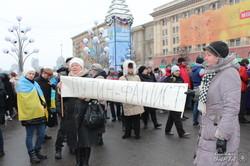 На недільному віче харків'яни протестували проти тероризму (фото)