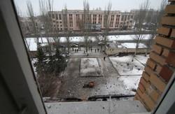 Бої в центрі Донецька. Снаряди понівечили лікарню