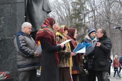 В Харкові відзначили День Соборності та вшанували героїв Небесної сотні (фото)