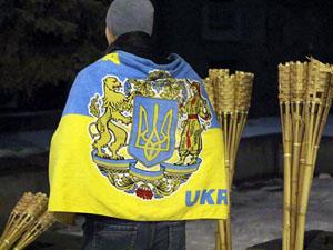 Дніпропетровські активісти вшанували пам'ять героїв битви під Крутами (фото, відео)