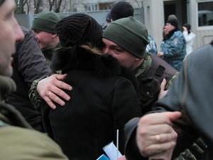 Харків відправив до зони АТО ще 30 бійців спецбатальйону міліції (фото)