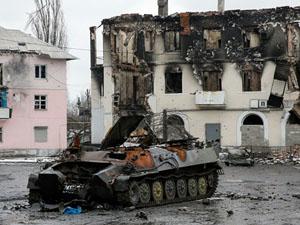 Страхітливі наслідки боїв за Вуглегірськ (фото)