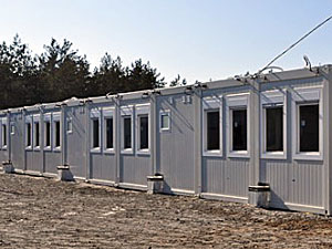 На Дніпропетровщині відкрили модульне містечко для переселенців