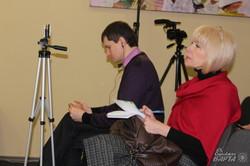 Автори фільму «Добровольці Божої чоти» розповіли про свою роботу (фото)