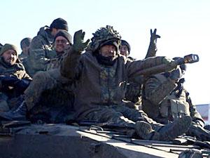 Майже всі підрозділи ЗСУ покинули Дебальцеве (фото)