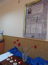 У харківському педагогічному ліцеї №4 вшанували пам'ять Героя небесної сотні Євгена Котляра