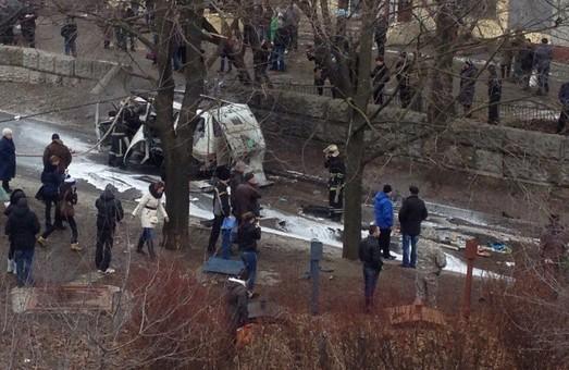 """У Харкові був підірваний автомобіль командира """"Слобожанщини"""""""
