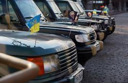 """Волонтери передали """"Східному корпусу"""" позашляховики для патрулювання (фото)"""