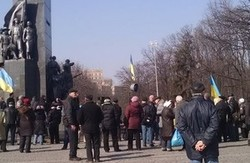 У Харкові влаштували мітинг на честь народин Тараса Шевченка (фото) (оновлено)