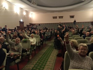 Активісти розповіли про порушення під час засновницьких зборів Громадської ради при ХОДА (Пряма трансляція)