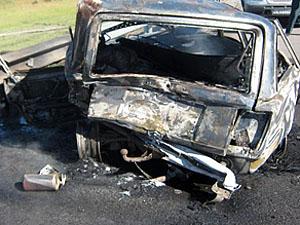 Бойовики звинувачують ЗСУ в підриванні пасажирського автомобіля під Горлівкою