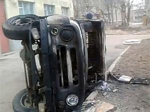 Масові безлади в Константинівці вгамовані силами міліції (відео)